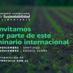 Seminario Internacional de Sustentabilidad Alimentaria