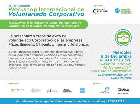 Workshop Internacional de Voluntariado Corporativo