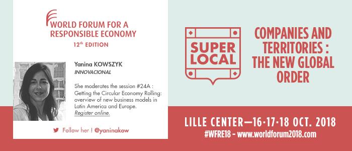 InnovacionAL moderará panel sobre casos de estudio de Economía Circular en América Latina y Europa